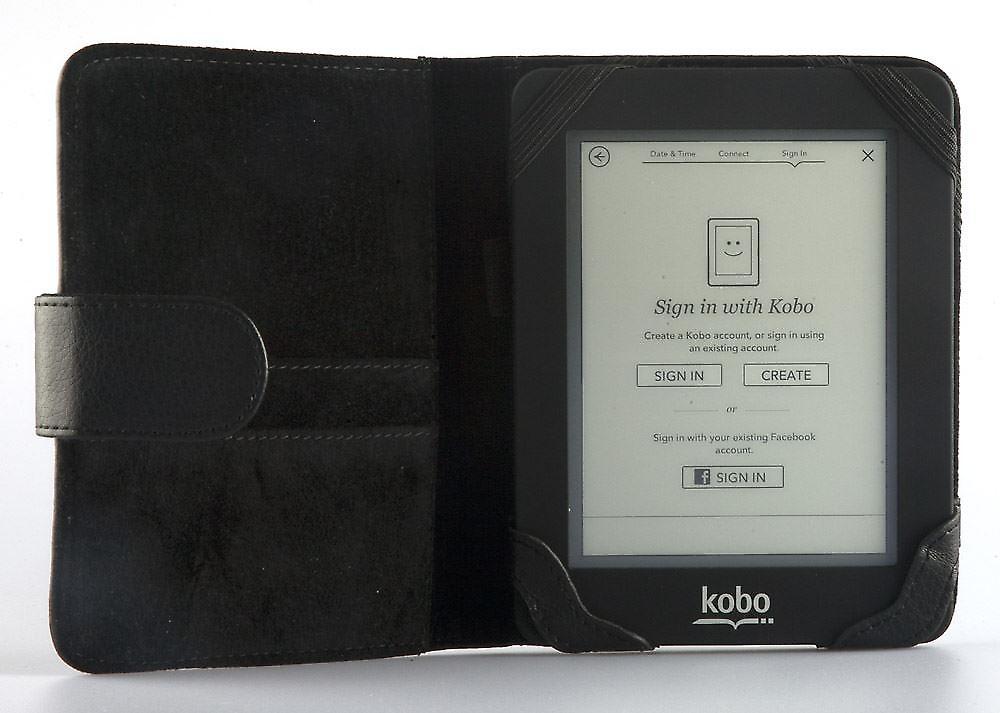 Copertura Odyssey per Kobo Mini nero