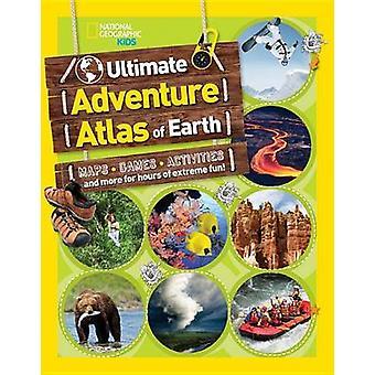 Den ultimata äventyret kartboken av jorden - kartor - spel - aktiviteter - en