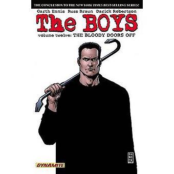The Boys - Volume 12 - Bloody Doors Off by Russ Braun - Darick Robertso