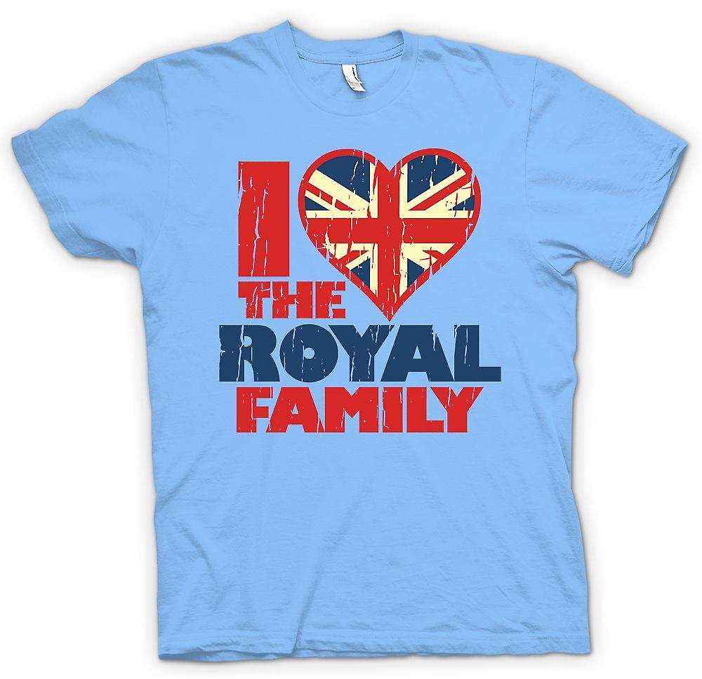 Camiseta para hombre - me encanta la familia real