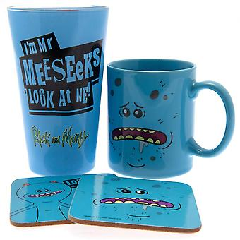 Rick And Morty Mr Meeseeks Gift Set