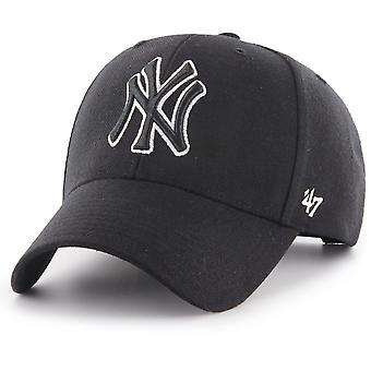 47 fire Adjustable Cap - MVP New York Yankees black