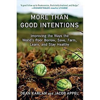 Mer än goda avsikter: Att förbättra de sätt världens fattiga låna, spara, gård, lära sig och hålla sig frisk