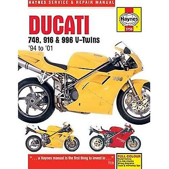 Ducati 748, 916 & 996 Service en reparatie handleiding (Haynes Service en reparatie handleidingen)