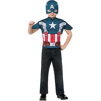 Conjunto de niño de Capitán América