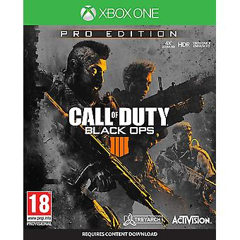 Call of Duty: Negro Ops 4 Pro Edition (Xbox uno)