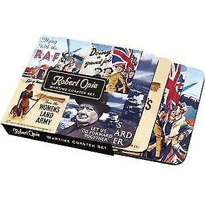 Wartime Images boxed set of 4 drinks mats / coasters  (hb)