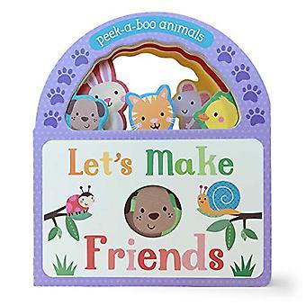 Let's Make Friends: Peek-A-Boo Animals [Board book]