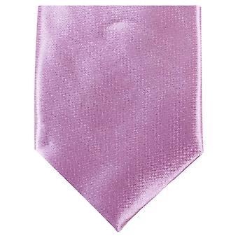 Knightsbridge Neckwear mince cravate Polyester - rose clair