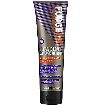 Fudge Clean Blonde Damage Rewind Violet Shampoo 250 ml