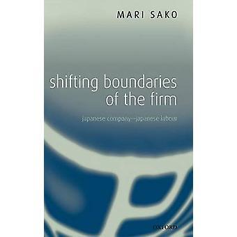 Cambio de límites de la empresa japonesa empresa japonesa trabajo por Sako y Mari