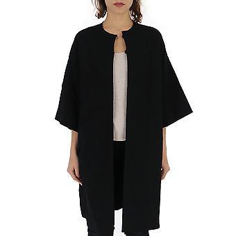 Stella Mccartney Black Viscose Coat