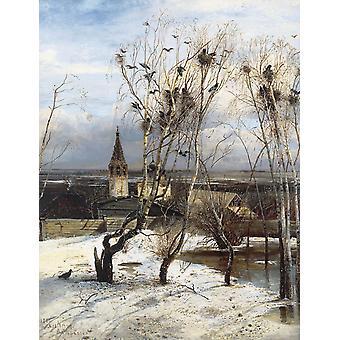 Пейзаж, Алексей Саврасов, 50x38cm