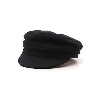 Isabel Marant Black Crocodile Hat