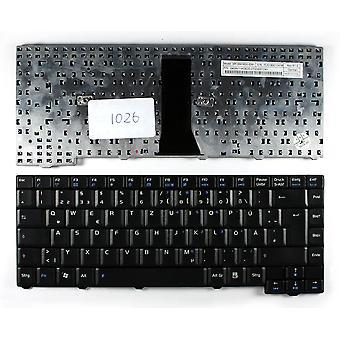 Asus MP-06916D0-5281 Black German Layout Replacement Laptop Keyboard