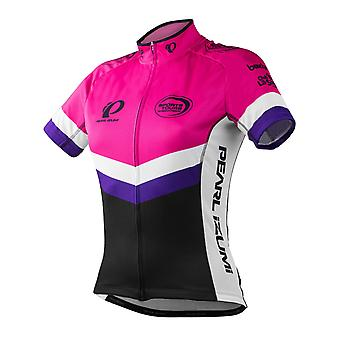Pearl Izumi Purple-Pink Custom Elite Boot Out Breast Cancer Womens Short Sleeved