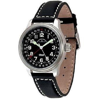 Zeno-watch montre NC pointeur pilote date 9554Z-a1