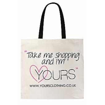 Yours Clothing Shopper Bag