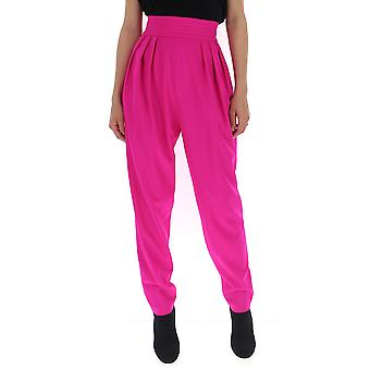 Attico Fuchsia Wool Pants