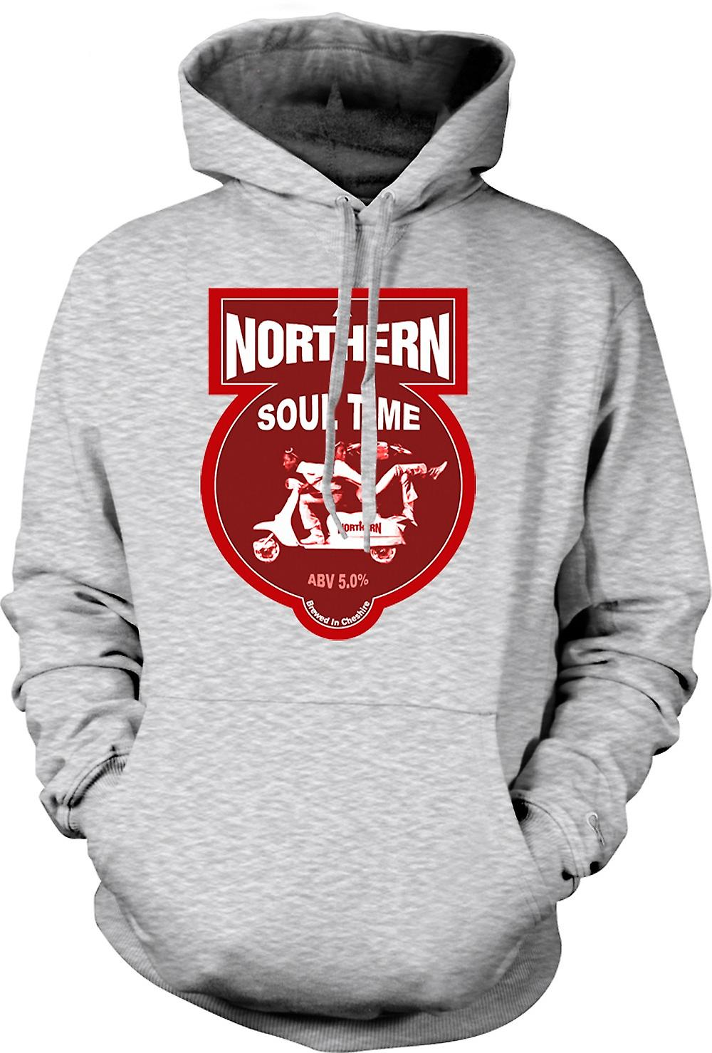 Mens Hoodie - Northern Soul Scooter Vespa
