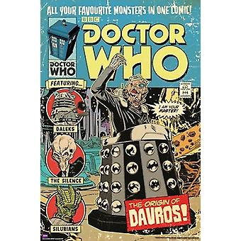 Poster - Studio B - Dr Who - Origin of Davros Wall Art P5611