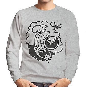 Grimmy Tuxedo Grin Men's Sweatshirt
