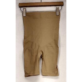 Slanke ' N Lift Shapewear stretch Knit afslanken & shaping shorts beige