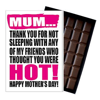 Funny Mother's Day Gift Boxed Chocolate Present Rude Greeting Card For Mom Mum Mumy MIYF111