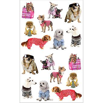 Mrs. Grossman's Stickers Pampered Dogs Mg199 14735
