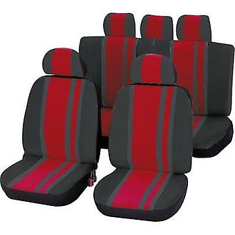 Seat covers 14-piece Unitec 84958 Newline Polyeste