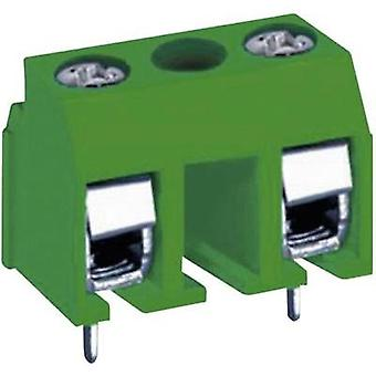 Screw terminal Number of pins 2 MA331-100M02 DECA Green 1 pc(s)