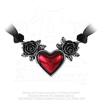 Alchemy Gothic Blood Heart Pendant