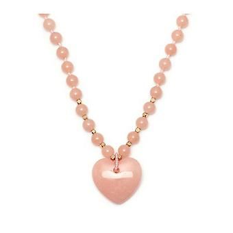 Lola Rose Josephina Necklace Ballet Pink Quartzite