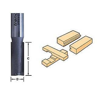 Trend 3/81 X 1/2 Tungsten Carbide Two Flute Cutter