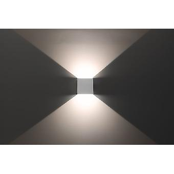 Wall lamp, effect light, beam 7 2 x 3 W LED Abstrahwinkel 0-90 degrees know 10659