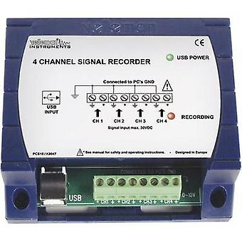 Velleman PCS10 4-channel USB data recorder PCS10 100 S/s