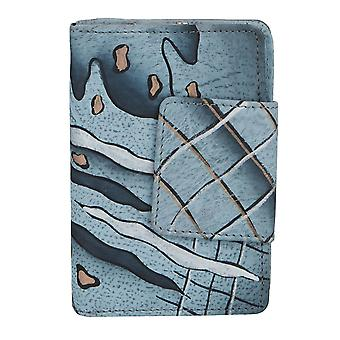 GREEN COUNTRY art + craft ladies leather purse unique 57-07