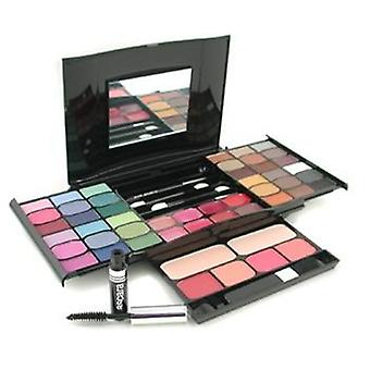 MakeUp Kit G2327 (2x Powder 36x Eyeshadows 4x Blusher 1xMascara 1xEye Pencil 8x Lip Gloss 4x Applicators) - -