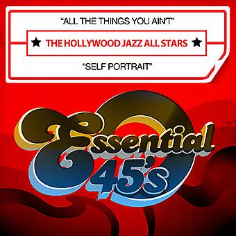 Hollywood Jazz All Stars - All the Things You Ain't / Self Portrait USA import