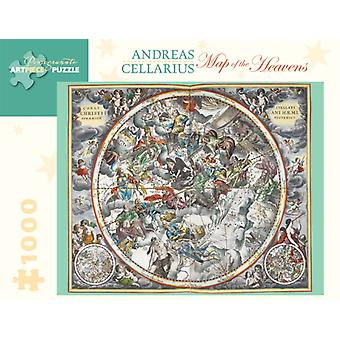 Andreas Cellarius: Map of the Heavens 1000-Piece Jigsaw Puzzle (Pomegranate Artpiece Puzzle) (Hardcover)