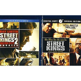 Street Kings/Street Kings 2: Motor City [Blu-ray] USA import