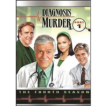 Diagnosis Murder: Season 4 Pt. 1 [DVD] USA import