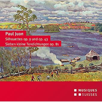 Juon / Sosnowski / Hartmann / Nuss - silhuetter Op. 9 & 43-syv Little tonedigte [CD] USA import