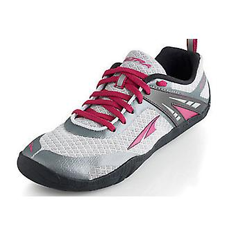 Altra Delilah Womens Running Shoes Silver/Magenta