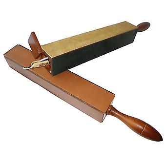 4-sided extra-large and long razor strop 4 GOOD Direct from France
