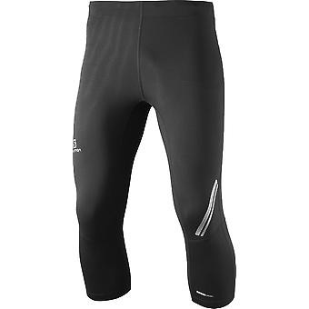 Salomon men agile 3-4 tight running trousers - 371189