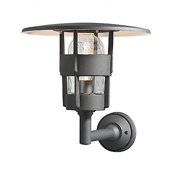 KONSTSMIDE Freja Matt Black Wall Light