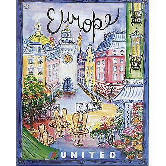 United Europe Poster Print Giclee