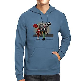 Season 2 Daredevil and Punisher Rick and Morty Men's Hooded Sweatshirt