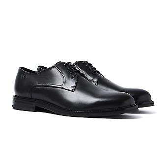 Hugo Red Label Neoclass Black Leather Derby Shoes